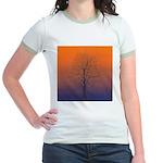 07.spring equinox tree. . ? Jr. Ringer T-Shirt