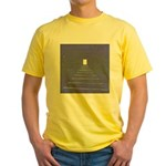 14.twilitezone..? Yellow T-Shirt
