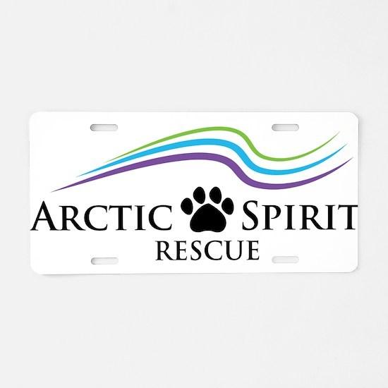 Arctic Spirit Rescue Aluminum License Plate