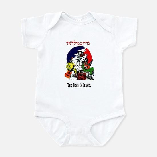 Color Deadhead Israel Infant Bodysuit