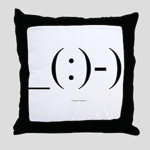 Suba Diver Emoticon Throw Pillow