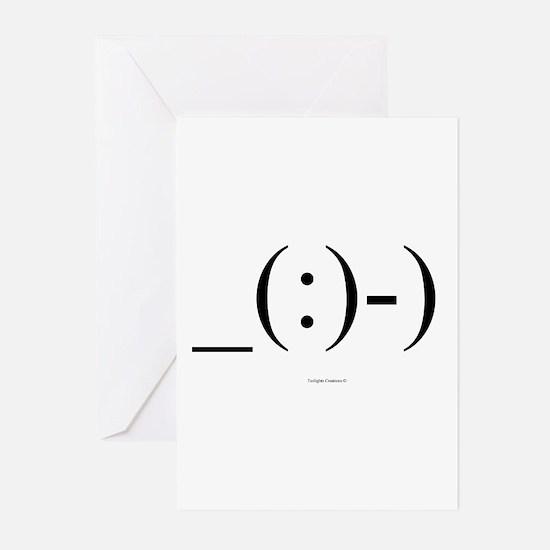 Suba Diver Emoticon Greeting Cards (Pk of 20)