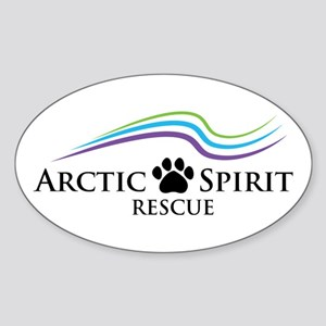 Arctic Spirit Rescue Sticker (oval)