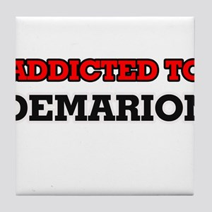 Addicted to Demarion Tile Coaster