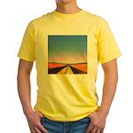 68.infinite road. . ? Yellow T-Shirt