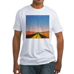 68.infinite road. . ? Fitted T-Shirt