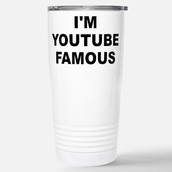 I'm Youtube Famous Small White Mug Mugs