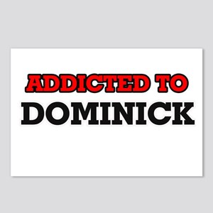 Addicted to Dominick Postcards (Package of 8)