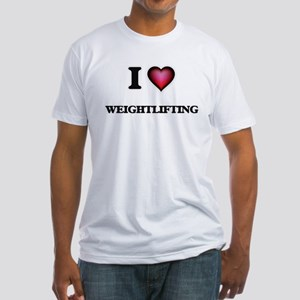 I Love Weightlifting T-Shirt