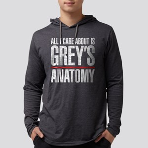 Grey's All I Care About Mens Hooded Shirt