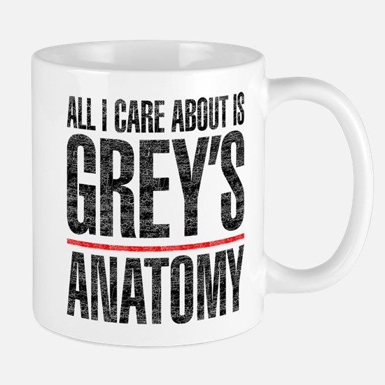 Grey's All I Care About Mug