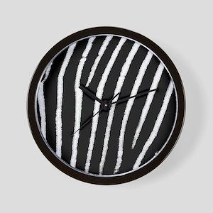 Zebra Print Wall Clock
