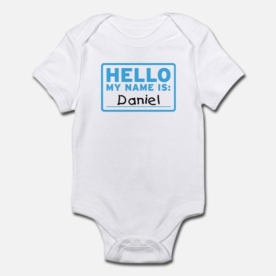 Hello My Name Is: Daniel - Infant Bodysuit