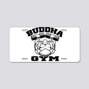 Buddha Gym Aluminum License Plate