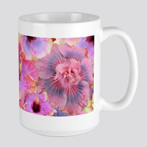 Tropical Hibiscus -seamless patterns Mugs