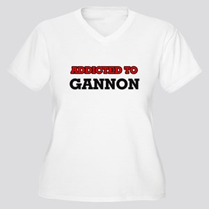 Addicted to Gannon Plus Size T-Shirt