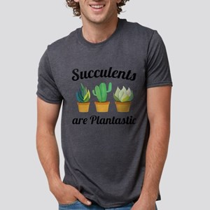 Succulents Are Plantastic White T-Shirt