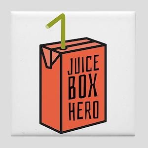 Juice Box Hero Tile Coaster