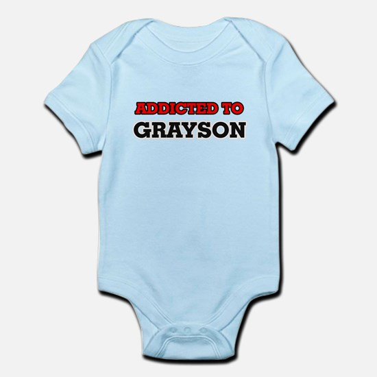 Addicted to Grayson Body Suit