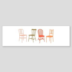 Chairs Bumper Sticker