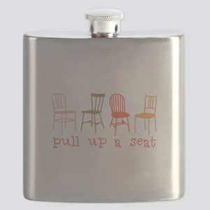 Pull Up Seat Flask