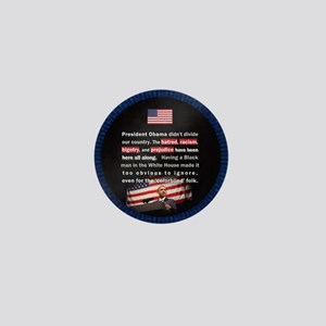 Racism in USA Mini Button