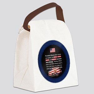 Racism in USA Canvas Lunch Bag