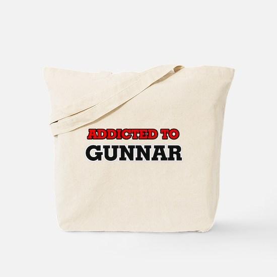 Addicted to Gunnar Tote Bag