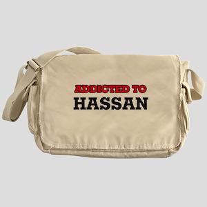 Addicted to Hassan Messenger Bag