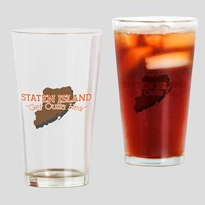 Get Outta Hea! Drinking Glass