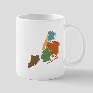 Five Boroughs New York Mugs