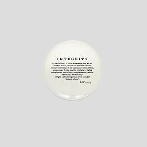 Definition of Integrity Mini Button