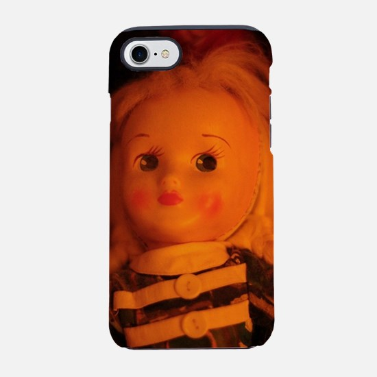 old Polish doll up close iPhone 8/7 Tough Case