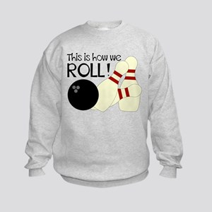 Bowling How We Roll Sweatshirt