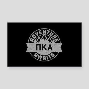 Pi Kappa Alpha Adventure Rectangle Car Magnet
