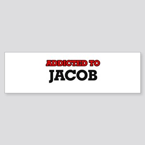 Addicted to Jacob Bumper Sticker