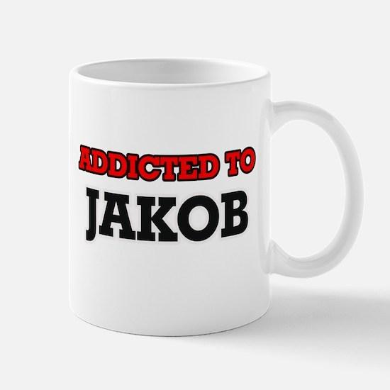 Addicted to Jakob Mugs