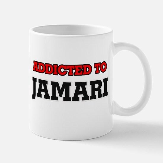 Addicted to Jamari Mugs