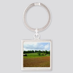 View From the French Lick Scenic Railway Keychains