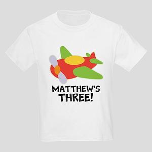3rd Birthday Plane Airplane T-Shirt