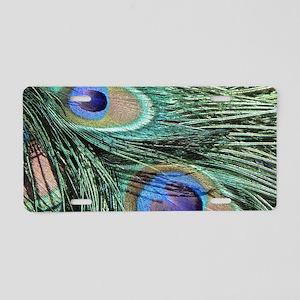 Peacock20160603 Aluminum License Plate