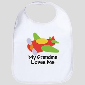 Personalized Grandma Loves Me Bib
