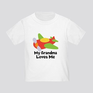 Personalized Grandma Loves Me T-Shirt
