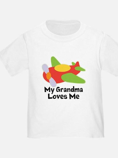 Personalized Grandma Loves Me T-Shirt