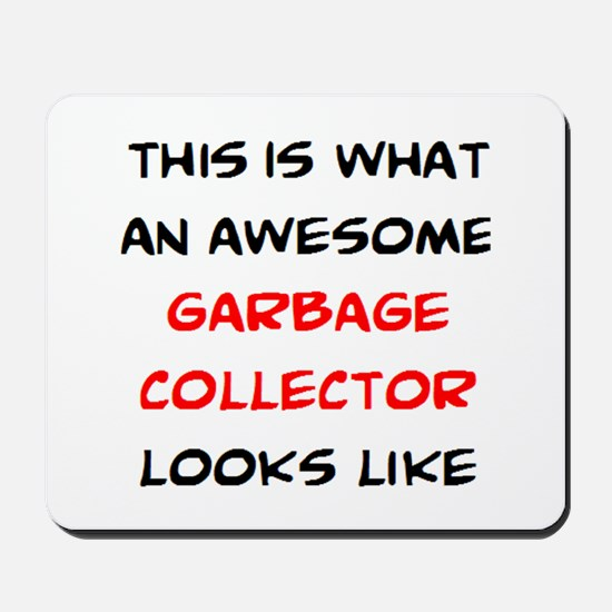 awesome garbage collector Mousepad