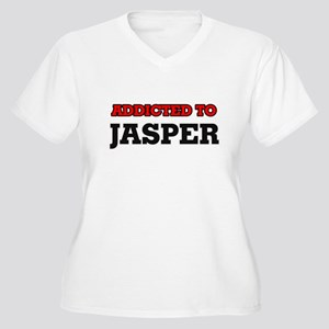 Addicted to Jasper Plus Size T-Shirt
