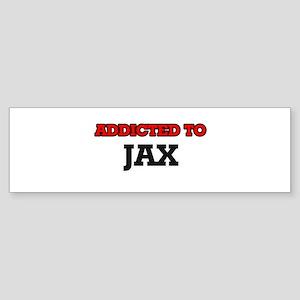 Addicted to Jax Bumper Sticker
