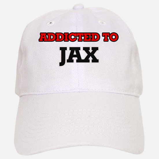 Addicted to Jax Baseball Baseball Cap
