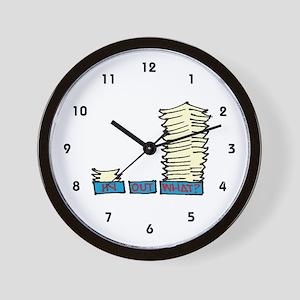 Secretary Wall Clock