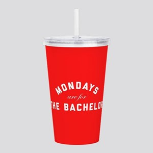Mondays Are For The Ba Acrylic Double-wall Tumbler